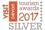 Devon-Tourism-Awards-Silver-Winner-2017