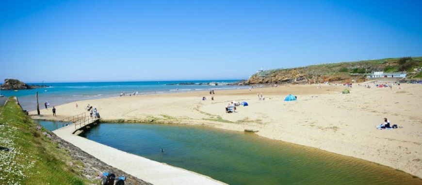 Bude-Beach-45-minute-Drive-From-Okehampton