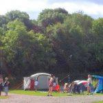 Family camping Okehampton Devon Dartmoor National Park