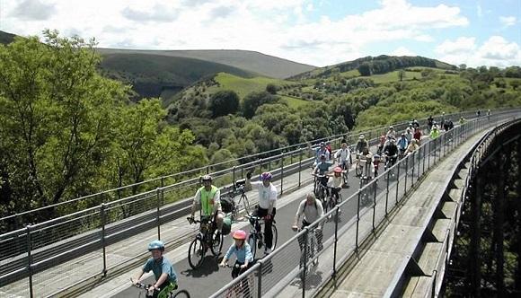 The Granite Way Cycling Route Okehampton Devon