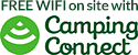 Camping connected logo