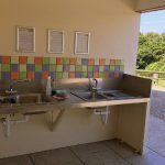 Washing-up-at-award-winning-caravan-park-Appledore-Park